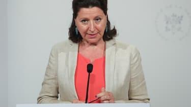 Agnès Buzyn le 24 juillet dernier à l'Élysée.