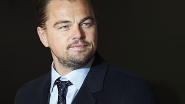 """Leonardo DiCaprio, le 14 janvier 2016, à l'avant-première de """"The Revenant"""" à Londres."""