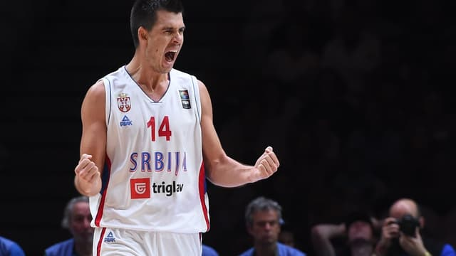 Erceg termine meilleur marqueur serbe avec 20 points.