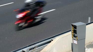Le conducteur d'un scooter a déclenché 68 fois le même radar routier (photo d'illustration).