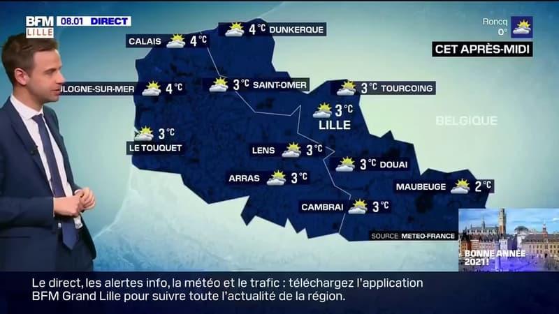 Météo Nord-Pas-de-Calais: de belles éclaircies et quelques flocons de neige pour débuter l'année