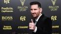 Lionel Messi à la cérémonie du Ballon d'or