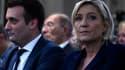 Marine Le Pen et Florian Phliippot.