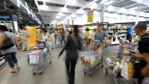 Les prix des produits alimentaires ont baissé de près de 2% sur un an selon l'Insee.