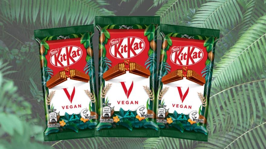 KitKat lance une version vegan de sa barre au chocolat - BFMTV