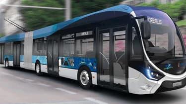 Iveco Bus a lancé avec Skoda Electric un trolleybus à batteries électriques présenté comme une solution de renouvellement des flottes existantes de ces véhicules.