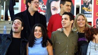 Les candidats de la toute première Star Academy en janvier 2002.