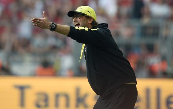 Jürgen Klopp lors de ses années sur le banc du Borussia Dortmund