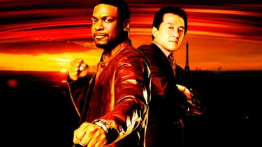 "Jackie Chan et Chris Tucker dans la saga ""Rush Hour"""