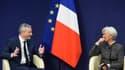 Christine Lagarde et Bruno Le Maire se voyaient tous les mercredi sous Sarkozy.