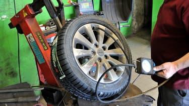 Delticom, spécialisée dans la vente en ligne de pneus, à choisi d'installer son centre logistique dans la ville d'Ensisheim. (image d'illustration)