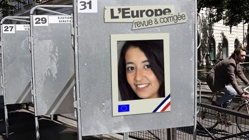 Karima Delli se présente en tant que tête de liste EELV dans la région Nord-Ouest.