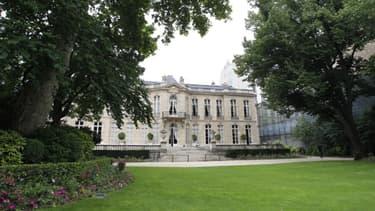 L'Hôtel Matignon.