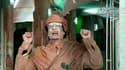Mouammar Kadhafi, lors d'un discours télévisé le 22 février 2011