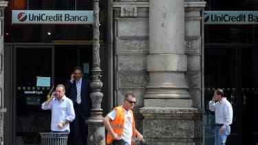 Unicredit est, selon Reuters, la grande banque européenne qui a le plus réduit les effectifs.