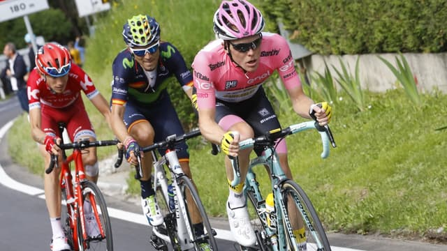 Zakarin, Valverde et Kruijswijk
