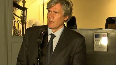 Le ministre de l'Agriculture, Stéphane Le Foll, ce mardi soir.