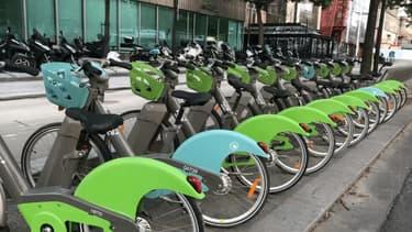 Des Vélib' à Paris