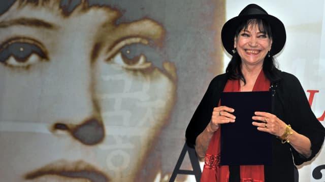 L'actrice Anna Karina à Cannes en 2009 -