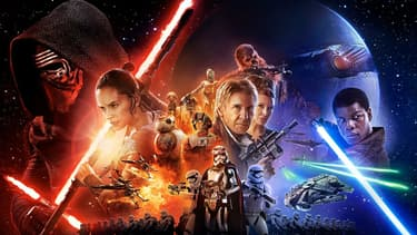 """L'affiche de """"Star Wars VII - le Réveil de la Force"""""""
