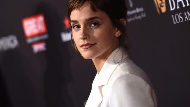 Emma Waston aux BAFTA Awards, à Los Angeles le 6 janvier 2018