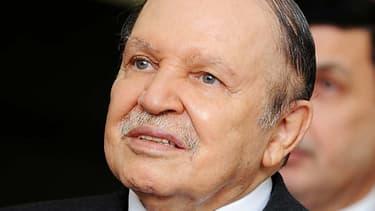 Le président algérien Abdelaziz Bouteflika en octobre 2012