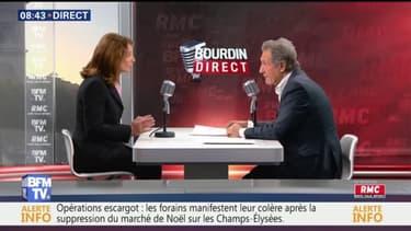 """""""Pour certains pays, le réchauffement climatique est une question de vie ou de mort"""", estime Ségolène Royal"""