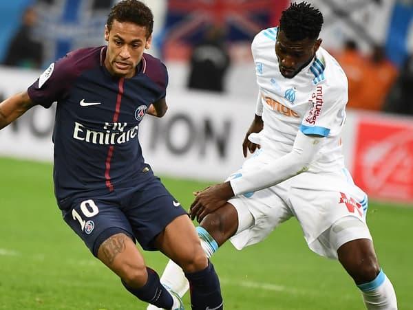 Neymar et Franck Zambo-Anguissa
