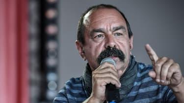 """""""Nous demandons le même traitement que les autres"""", a demandé Philippe Martinez."""