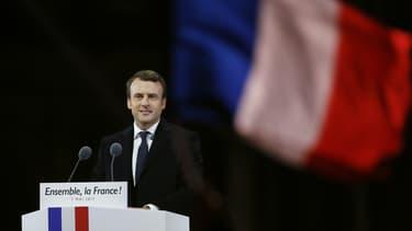 Emmanuel Macron est arrivé largement en tête à Paris.