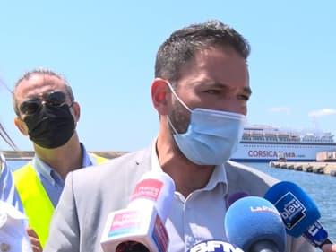 Des élus marseillais ont été pris à partie par des dockers au port de Marseille.
