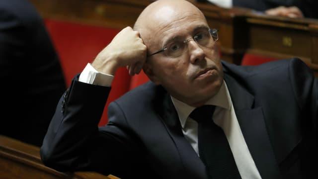 Eric Ciotti le 1er février 2017 à l'Assemblée nationale