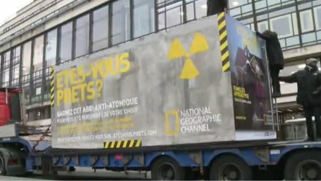 Que ferez-vous le 21 décembre, date présumée de la fin du monde? National Geographic propose de participer à un jeu concours pour gagner une nuit dans un abri antiatomique.