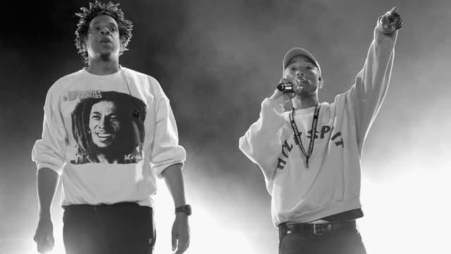 Jay-Z et Pharrell Williams en 2019
