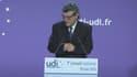Jean-Louis Borloo, président de l'UDI, lors du premier Conseil national du parti le 15 juin dernier.
