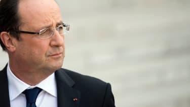 Cette visite de François Hollande à Roissy n'était pas annoncée.