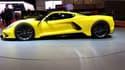 Au salon automobile de Genève, l'Américain Hennessey expose la Venom F5, qui se revendique la voiture la plus rapide au monde.