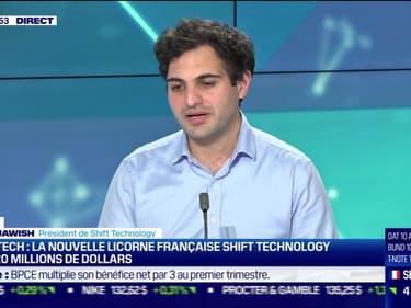 Jérémy Jawish (Shift Technology) : La nouvelle licorne française Shift Technology lève 220 millions de dollars - 06/05