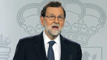 Mariano Rajoy, le 11 octobre 2017