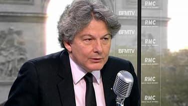 Thierry Breton, directeur de la société Atos
