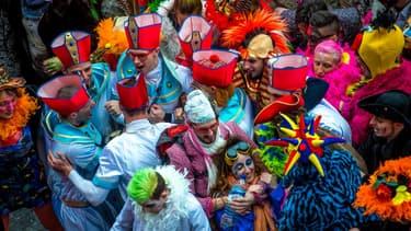 Le carnaval de Dunkerque, en 2017