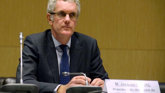 Jacques Rivoal, le patron de Volkswagen Group France, en février 2016 lors d'une audition à l'Assemblée nationale.