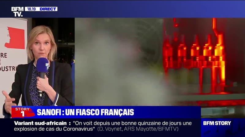 """Covid-19: selon Agnès Pannier-Runacher, le vaccin de Sanofi """"arrivera au quatrième trimestre de l'année"""""""