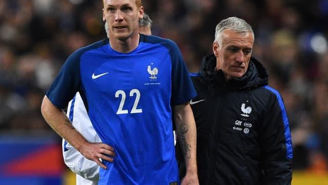 Jérémy Mathieu et Didier Deschamps