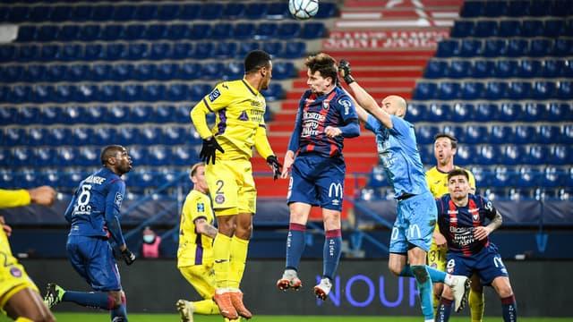 Caen et Toulouse