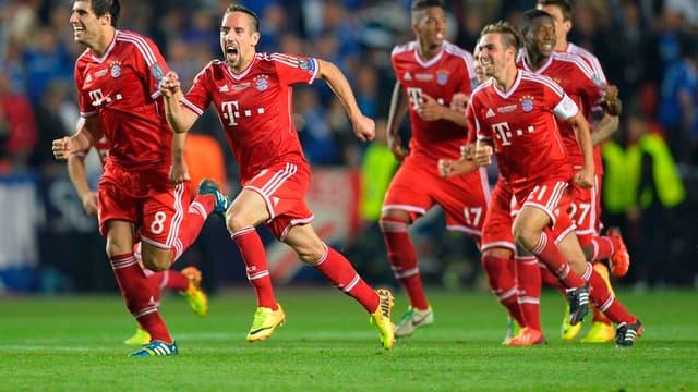 Le Bayern de Ribéry, en 2012-2013