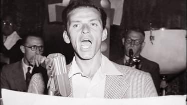 Frank Sinatra sur scène