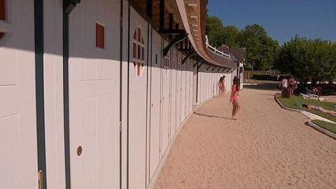 Les cabines de la plage de l'Isle Adam font peau neuve