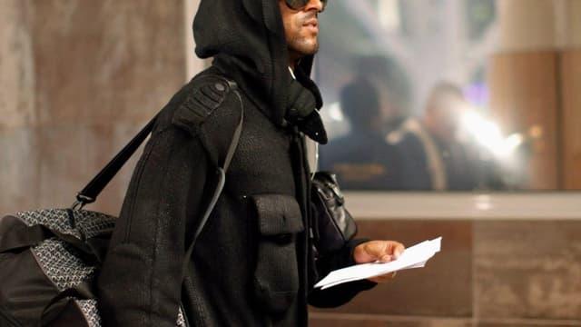 Nicolas Anelka à son départ du Cap