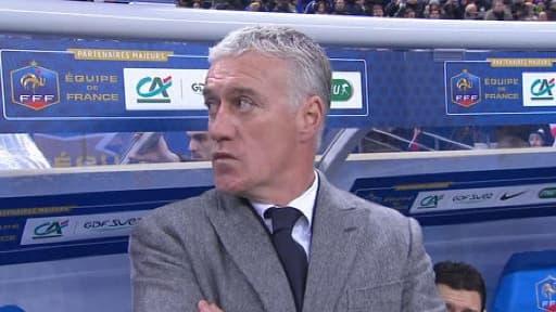 Le sélectionneur de l'équipe de France de football, Didier Deschmaps, mercredi 6 février